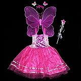 ハロウィン 仮装 衣装 コスプレ コスチューム 子供 キッズ 子ども用 こども 妖精の羽 ウイング アク コスチューム用小物 女の子 天使 コスプレ エンジェル ウィング (ローズ)