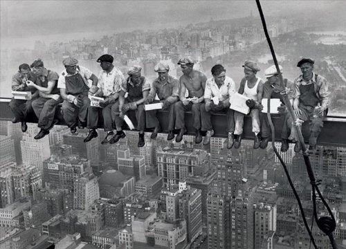 [해외]포스터 마천루 위에서의 점심 PP-0020/Lunch on the skyscraper PP-0020
