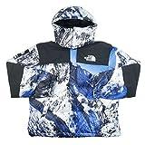 SUPREME シュプリーム ×THE NORTH FACE 17AW Mountain Baltoro Jacket バルトロジャケット 白青 M 並行輸入品