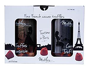 マセズ トリュフ チョコ プレーン 2缶セット スイーツ チョコレートMathez トリュフチョコレート
