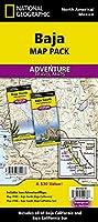 National Geographic Baja Map Pack: Baja North, Baja South (National Geographic Adventure Map)