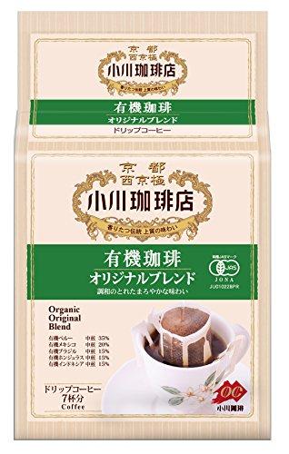 小川珈琲店 有機珈琲 オリジナルブレンド ドリップコーヒー 7杯分