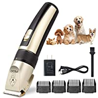[TXPY] [Professional Dog Clippers Rechargeable Dog Grooming Kit Cordless Pet Grooming Clippers Low Noise Dog Grooming Clippers Pet Clippers Suitable for Dogs Cats and Other Pets House Animals] (並行輸入品)