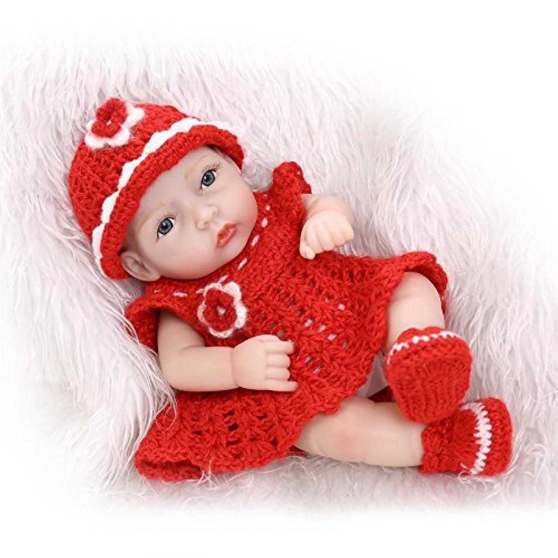 Nicery 生まれ変わった赤ちゃん人形おもちゃハードシミュレーションシリコンビニール11インチ28cm防水おもちゃとギフト Reborn Baby Doll RD28A021G
