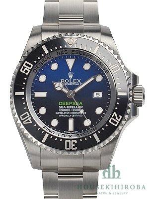ROLEX ロレックス オイスターパーペチュアル シードゥエラーディープシーDブルー 116660 [新品] [RX2341][メンズ][D-blue] [並行輸入品]