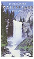 2016-2017 2 Year Monthly Planner - Waterfalls [並行輸入品]