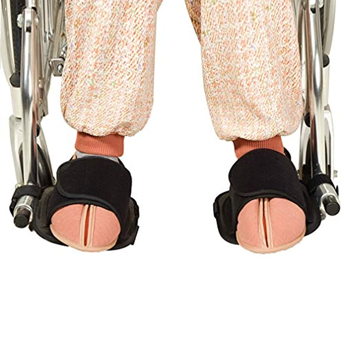 こするバング甘くする車いす安全拘束靴 - メディカルフット滑り止めの試験官を - - 車椅子ペダルフット休符男性女性から滑り落ちるの足をキープ高齢患者ハンディキャップのために回復