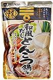 ミツカン 〆まで美味しい和風だしとんこつ鍋つゆ ストレート 750g×3個