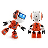 Appoi Cool Gift Toys for Children Sensingタッチ多機能音楽スマートミニ合金ロボット子供おもちゃギフト オレンジ