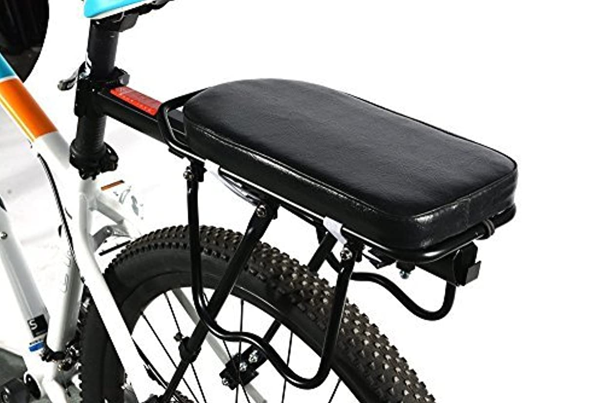 月曜信者派生する自転車荷台用 ソフトクッション リアキャリア 黒 ROCKBROS(ロックブロス)