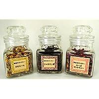 【 誕生日 プレゼント 女性 】 健康茶 ハーブ 3種セット (春 の目覚めの お茶 【 カモミール ・ ジャスミン茶 ・ ローズ ミント 】)