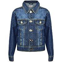 Kids Boys Denim Jackets Designer Blue Jeans Jacket Fashion Coat New Age 3-13 Yr