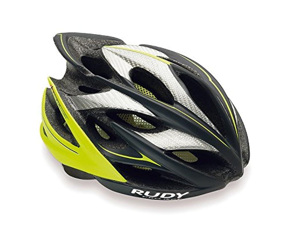 頑張る取り扱いピニオンRUDY PROJECT(ルディプロジェクト) ヘルメット WINDMAX ウィンドマックス グラ/ライム S-M 0752-HL522401