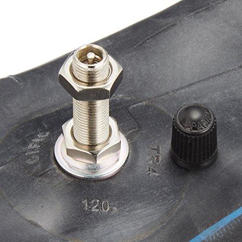 DUNLOP(ダンロップ)バイクタイヤチューブ 3.00*80/100*100/80-12 バルブ形状:TR4 リム径:12インチ 134061 二輪 オートバイ用