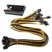 Sharplace 10本 電源ケーブル 6ピン 電源ブレークアウトボード アダプタ 2種選択可   - 同じ側