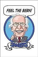 大統領選挙2016–Bernie Sanders 12 x 18 Art Print LANT-74508-12x18