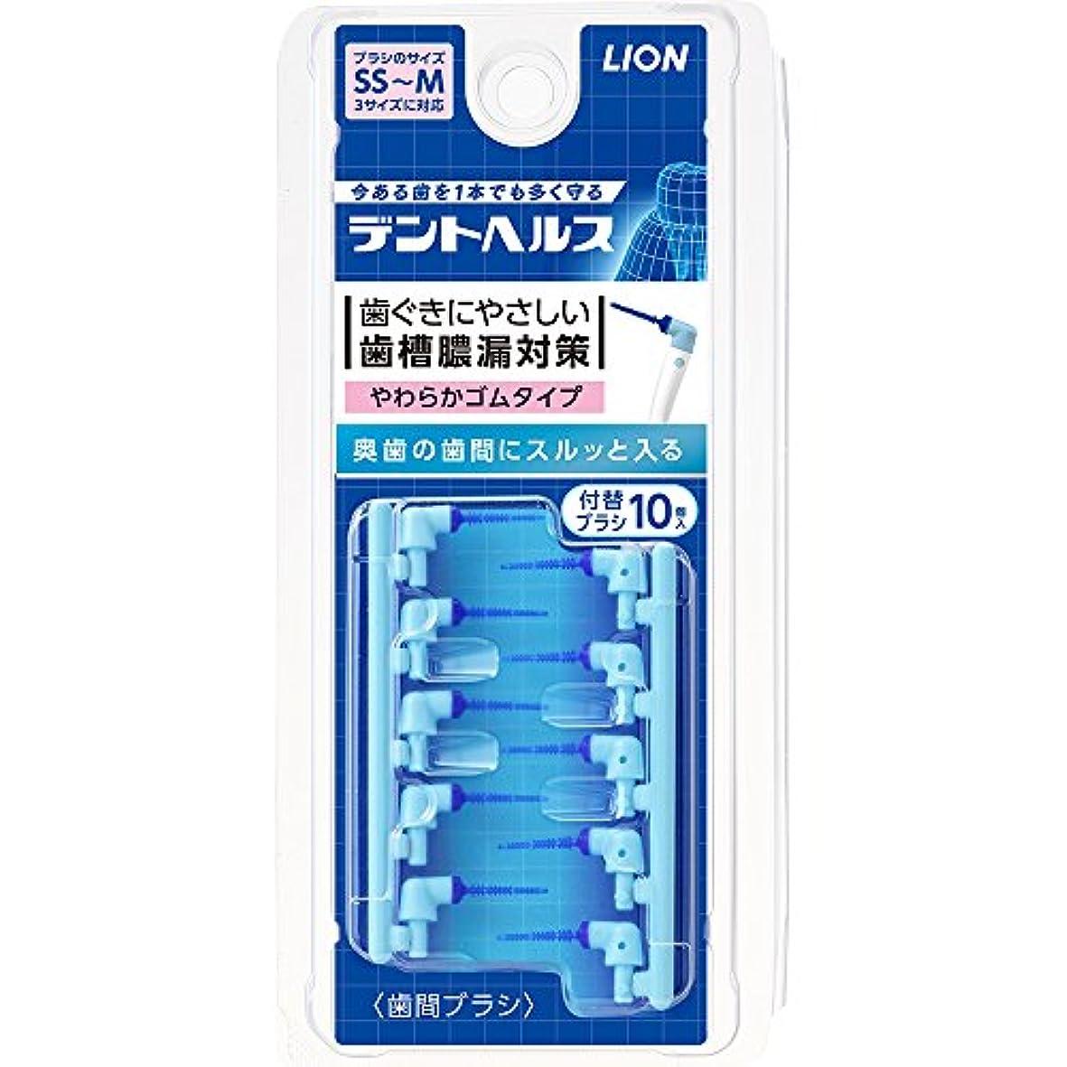 ミニチュアタオルスキップ歯槽膿漏予防に デントヘルス 歯間ブラシ 付替用