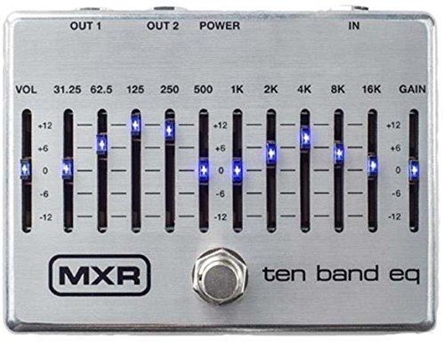 MXR/M108S TEN BAND EQ 10バンドグラフィックイコライザー