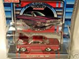 Maisto Pro Rodz Red 1962 Chevy Bel Air 1:64 Scale Die Cast Car