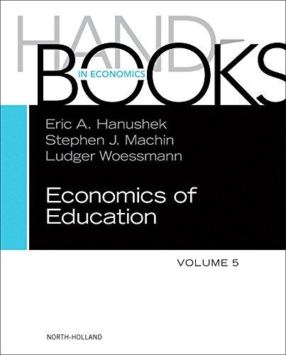Handbook of the Economics of Education (Handbooks in Economics) (English Edition)