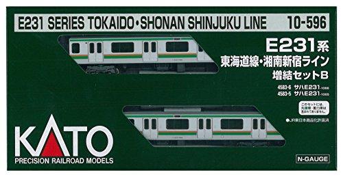 カトー 10-596 E231系東海道線 湘南新宿ライン 増結B 2両