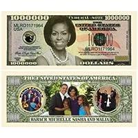 Michelle Obama Million Dollar Bills Case Pack 100 [並行輸入品]