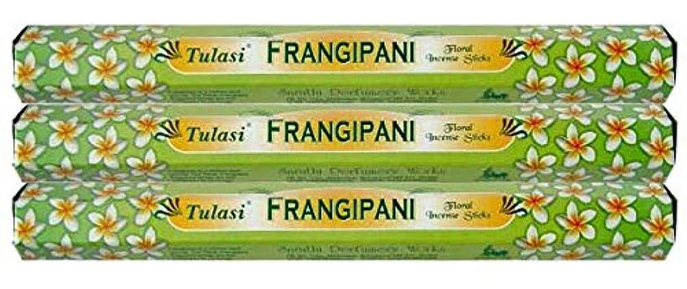 高原未使用過度のTulasi フランジパニ 3個セット