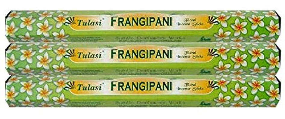 消す依存するブローホールTulasi フランジパニ 3個セット