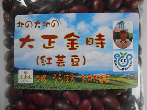 北海道十勝産 金時豆(大正金時)エコファーマー認証 450g×2袋 平成28年産