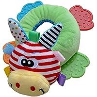 Dovewill  動物型 ぬいぐるみ 柔らかい  ベッド  ベル  ガラガラ  おしゃぶり 玩具  赤ちゃん 贈物  全5種類  - #5
