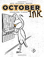 October Ink: Coloring Book