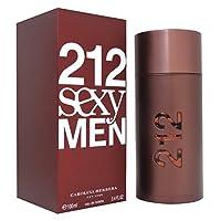 212セクシーby Carolina Herrera for Menオードトワレ3.4Oz 100Ml新しい( in mind )