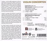 ベルク&ベートーヴェン:ヴァイオリン協奏曲 (Berg & Beethoven : Violin Concertos / Orchestra Mozart, Isabelle Faust, Claudio Abbado) 画像