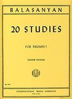 BALASANYAN S. - Estudios (20) para Trompeta (Foveau)