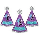 Must Dance to the Beat – ダンス – ミニ円錐ダンスパーティーや誕生日パーティー帽子 – スモールLittle Party Hats – 10のセット