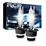 RCP HIDバルブ 車用ヘッドライト D4S/D4R汎用 純正交換 35W Xenon HID 6000K 発光色選択可能 明るさアップ 加工なし 2年保証 RCP-D4C