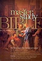 The Master Study Bible King James Version: Burgundy Padded, Imitation Leather