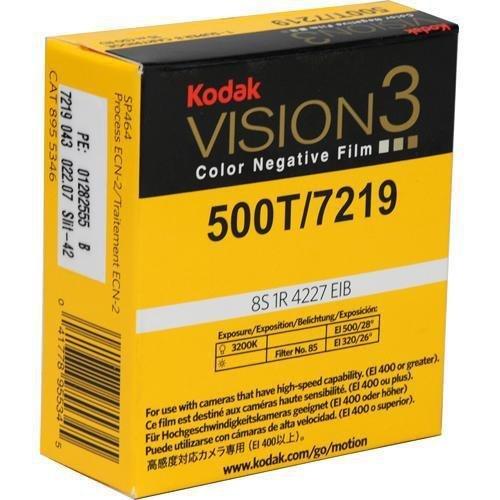 Kodak vision3?500t / 7219カラーネガフィルム、sp464?Super 8カートリッジ, 50?' Roll