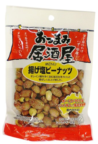 おつまみ居酒屋 揚げ塩ピーナッツ 69g×12袋