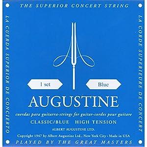 AUGUSTINE オーガスチン クラシックギター弦 ブルーセット BLUE SET