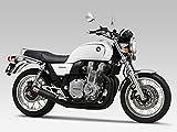 ヨシムラ(YOSHIMURA) バイクマフラー フルエキゾースト 機械曲 ストレート サイクロン 政府認証 B スチールカバー CB1100(/EX 14-) 110-41A-6660 バイク オートバイ