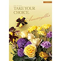 ハーモニック カタログギフト TAKE YOUR CHOICE (テイク・ユア・チョイス) アマリリス 包装紙:グランロゼ