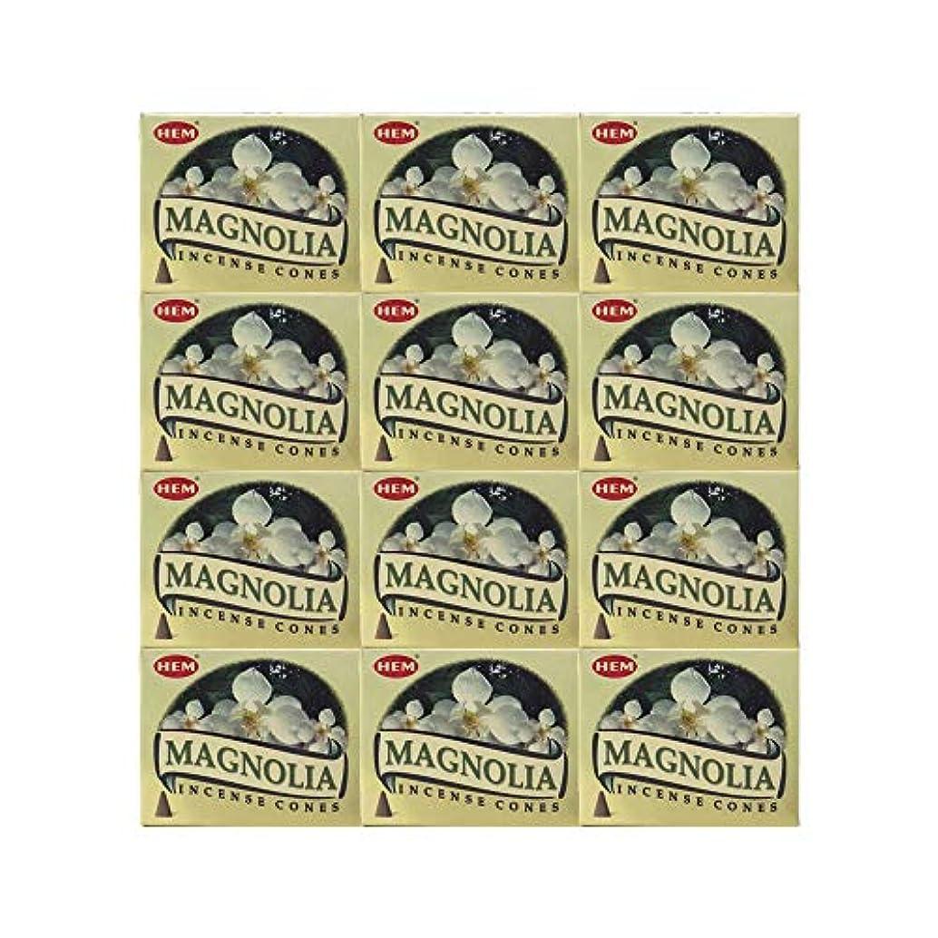 かる嘆願ラインHEM(ヘム) マグノリア香 コーンタイプ MAGNOLIA CORN 12箱セット
