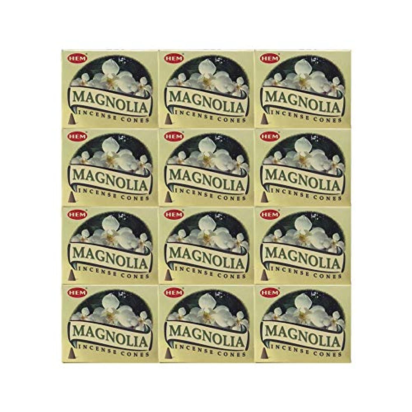 住む始める慰めHEM(ヘム) マグノリア香 コーンタイプ MAGNOLIA CORN 12箱セット