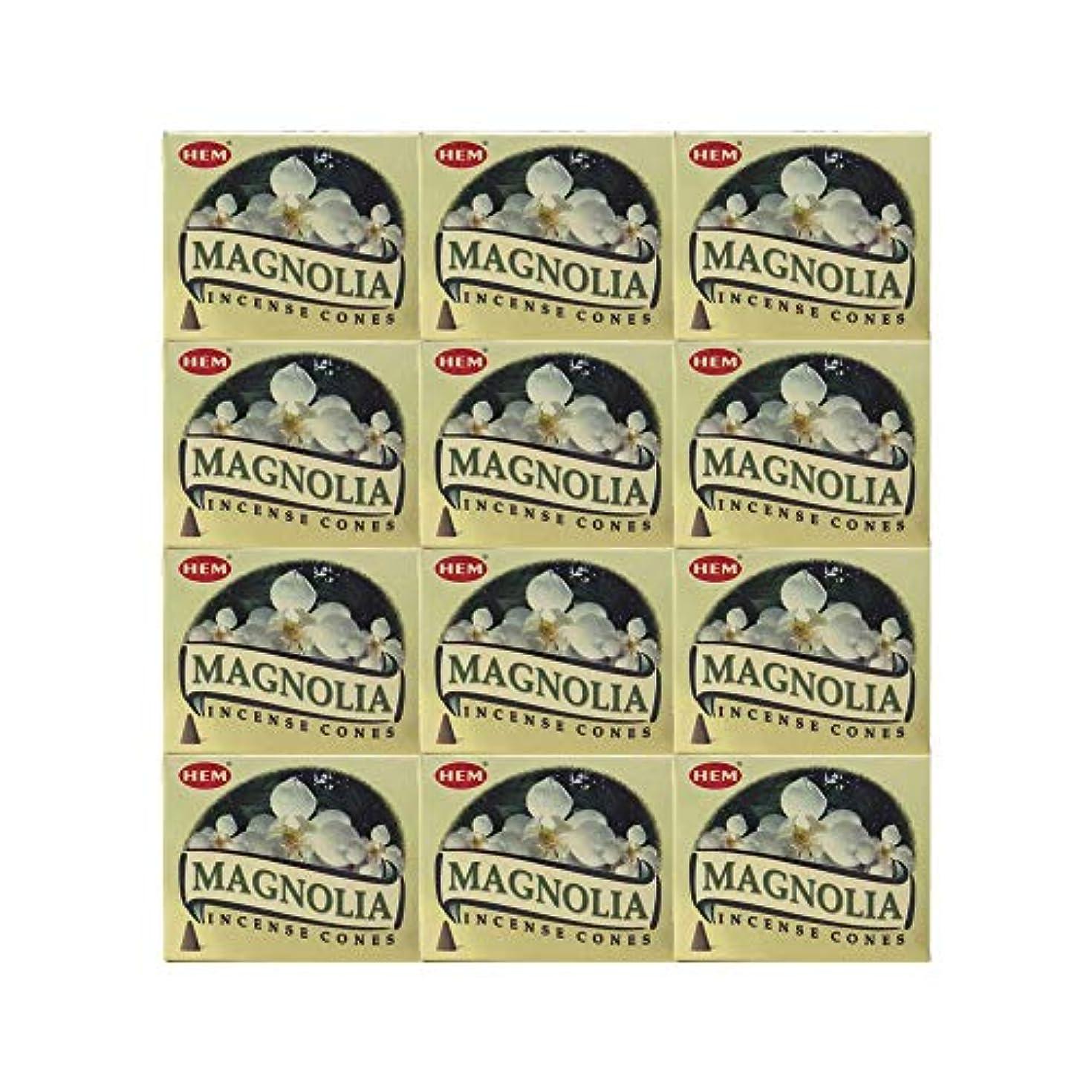 リファイン出発ドナーHEM(ヘム) マグノリア香 コーンタイプ MAGNOLIA CORN 12箱セット