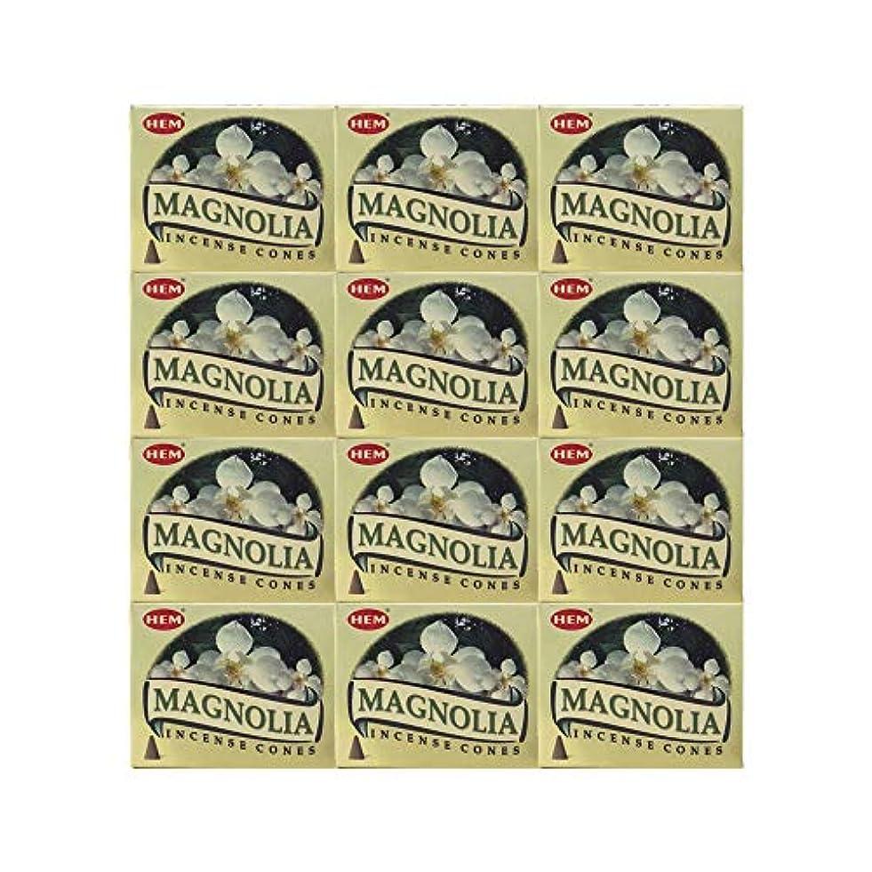 無謀友だちイディオムHEM(ヘム) マグノリア香 コーンタイプ MAGNOLIA CORN 12箱セット