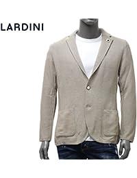 (ラルディーニ) LARDINI ジャケット ニット 鹿の子織り ベージュ×ライトブルー EELJM19 EE50012 200CE [並行輸入品]