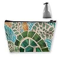 ハワイ風の図案 化粧ポーチ メイクポーチ コスメポーチ 化粧品収納 ミニ 財布 小物入れ 軽い 軽量 防水 旅行も携帯便利 多機能 バッグ 小さな化粧品の袋