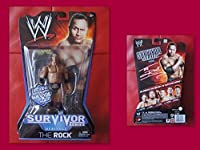 WWE The Rock Survior Series Figure With Chair 1 Of 1000