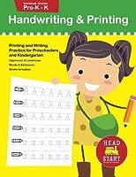 Handwriting & Printing workbook grades Pre-K - K: Printing and Writing Practice for Preschoolers and Kindergarten (Letter Tracing and Printing) [並行輸入品]